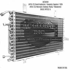 71 72  Ford Galaxie LTD Mercury Monterey ac condenser Air AC5050 D1AZ19712A USA