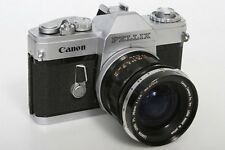 Canon Pellix 35mm SLR Camera With Canon FL 35mm f2.5 Lens