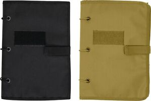 Hook & Loop Tactical Patch Storage Book Collection Holder Morale Case
