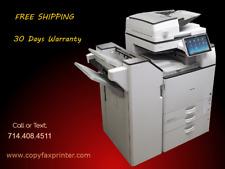 Ricoh Mp 6055 Blackwhite Copier Printer Scanner With Stapling Finisher