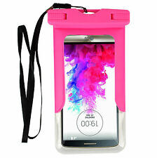 "6.5"" Dry Bag Pouch Waterproof Case For iPhone 6S plus Samsung galaxy J7  LG K10"