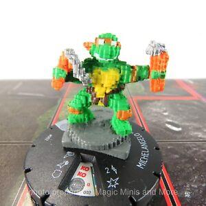 TMNT Unplugged ~ MICHELANGELO #002 HeroClix Teenage Ninja Mutant Turtles
