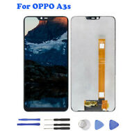 For Oppo A3s 6.2'' LCD Display Touch Screen Digitizer Assembly Black With Tools