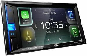 "JVC KW-M560BT 6.8"" Shallow Chassis Bluetooth Digital Media In-Dash Receiver"