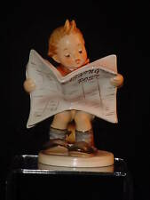 HUMMEL, LATEST NEWS - HUM.#184, WASHINGTON POST, VERY RARE TITLE, MINT IN BOX!