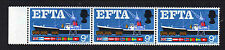 GREAT BRITAIN 1966 9d EFTA WITH QUAY FLAW W111h MNH.