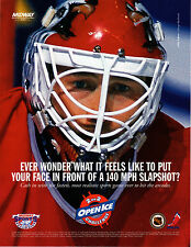 NHL HOCKEY 2 ON 2 OPEN ICE CHALLENGE Original VIDEO ARCADE GAME Flyer MIDWAY