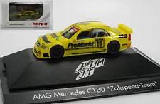 Herpa AMG MERCEDES c180 Zakspeed Team ProMarkt DTM 1994 PC 036146 OVP NUOVO 1:87