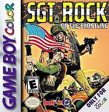 Sgt. Rock: On the Frontline (Nintendo Game Boy Color, 2000)