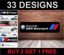 BMW Motorsport- Logo Werkstatt, Garage, Büro oder Showroom PVC Banner