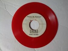 "The Marvelettes 45 rpm ""Please, Mr. Postman"" GRAND 203 on RED-WAX"