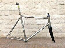 Pelizzoli STEEL frame XXL pmp titanium seat carbon fork campagnolo shimano ciocc
