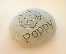 Hamster Pet Memorial Custom Engraved Memorial Stone Pet Loss Personalized