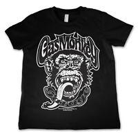 Gas Monkey Garage Fast N Loud Affe GMG Kids Kinder T-Shirt 4-12 Jahre Schwarz