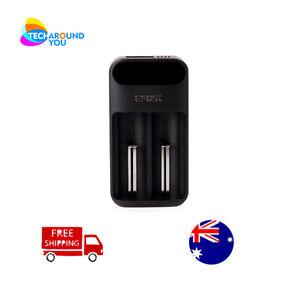 FEST lush Q2 Smart LED Li-ion lithium battery Charger 18650 20700 26650 18350