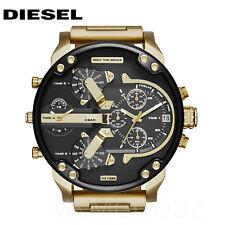 NEW Diesel Original DZ7333 MR DADDY 2.0 Gold Multiple Time Chronograph Watch