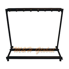 7 Guitar Stand Multiple Slots Display Rack Folding Padded Stand