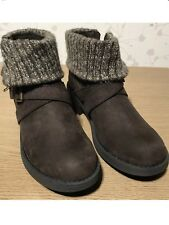 Rocket Dog Size 4 Brown Womens Ladies Ankle Snow Winter Boots Shoes New Genuine
