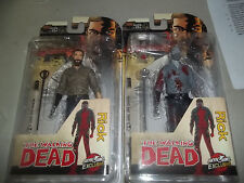 Mcfarlane The Walking Dead Skybound Exclusive Rick Grimes Figure Set In Stock