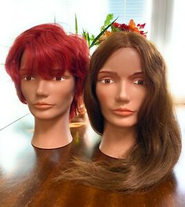 Pivot Point Mannequin Heads - Lot of Two - Used