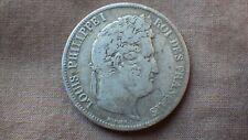 1x PIECE Argent Silver 5 FRANCS LOUIS PHILIPPE Frappe K 1839