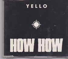 Yello-How How cd maxi single