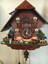 Hermle Heidelberg Cuckoo Wall Clock by Hermle model # 45000