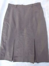 FLETCHER JONES SKIRT SIZE 12 HARDLY WORN WOOL BLEND PLEATS FRONT