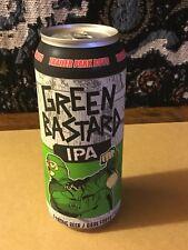 RARE! TRAILER PARK BOYS Green Bastard IPA Canada Beer Can Limited! Bubbles