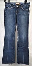 Paige Laurel Canyon Dark Clean Crease Blue Jeans 27 USA