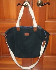 NWT Abercrombie and Fitch Women's Navy Blue Tote book bag backpack shoulder bag