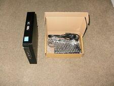 Dell optiplex 3020 Tiny PC i3 4160T 3.1GHz 4GB RAM 500GB HDD + Charger Win 10