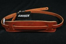 Gretsch Skinny Leather Guitar Strap Walnut New