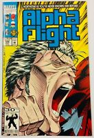 ALPHA FLIGHT Issue #106 NorthStar's Big Reveal - 2nd Print 1992 Marvel Comics