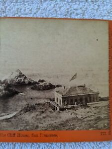 Stereoview Cliff House San Francisco Taber Stereograph