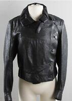 YSL Saint Laurent Leather Women Jacket