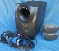 SONY 3Pc Home Theater Speaker System SS-WSX1 / SS-X1F FREE SHIPPING!