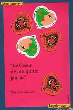 France Bloc N°27 Saint Valentin Yves Saint Laurent 2000 Neuf Luxe