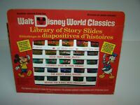 Disney World Classics Library Of Story Slides No. 555 Slides For Toy Projectors