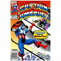 Captain America (1968 series) #409 Newsstand in NM minus. Marvel comics [*ak]