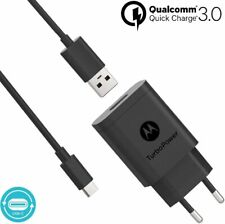 Motorola TurboPower™ 18 Cargador Original de Pared USB-C Universal