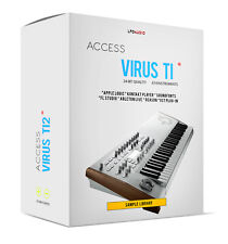 Access Virus Ti2 Sample Library for SOUNDFONTS SF2 sounds samples SRX