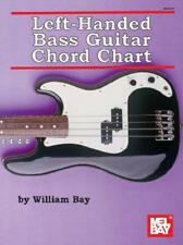 Left-Handed Bass Guitar Chord Chart by William Bay | Paperback Book | 9780786683