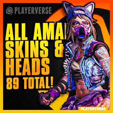 【Modded + DLC】💢 Borderlands 3 - All Amara Skins & Heads 💢【Xbox/PS4/PC】