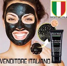 BLACK MASK MASCHERA BELLEZZA PULIZIA VISO RIMUOVE PUNTI NERI DALL'ITALIA 50ML !!