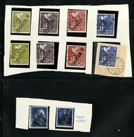 Germany Stamps Lot of rare Berlin over prints