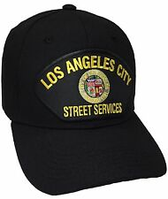 City Of Los Angeles Street Services Hat Color Black Adjustable