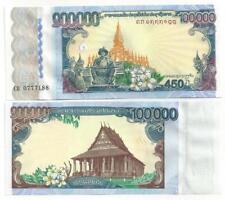 LAOS LAO 100000 100.000 KIP COMMEMORATIVE 2010 UNC P 40