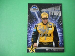 Matt Kenseth signed 2009 PP ECLIPSE #17 DEWALT Ford *BRIGHTEST STARS* Card #61