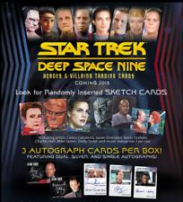Star Trek Deep Space Nine Heroes & Villains Basic Mini-Master Set and DS9 Binder